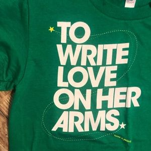 NWT- To Write Love On Her Arms, Suicide Prevention